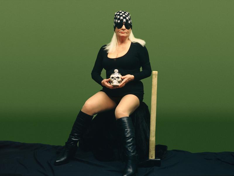 """Natalia LL, """"Transfiguracja Odyna II"""", 2009, tryptyk fotograficzny, 100 x 133 cm, fot.  dzięki uprzejmości artystki"""