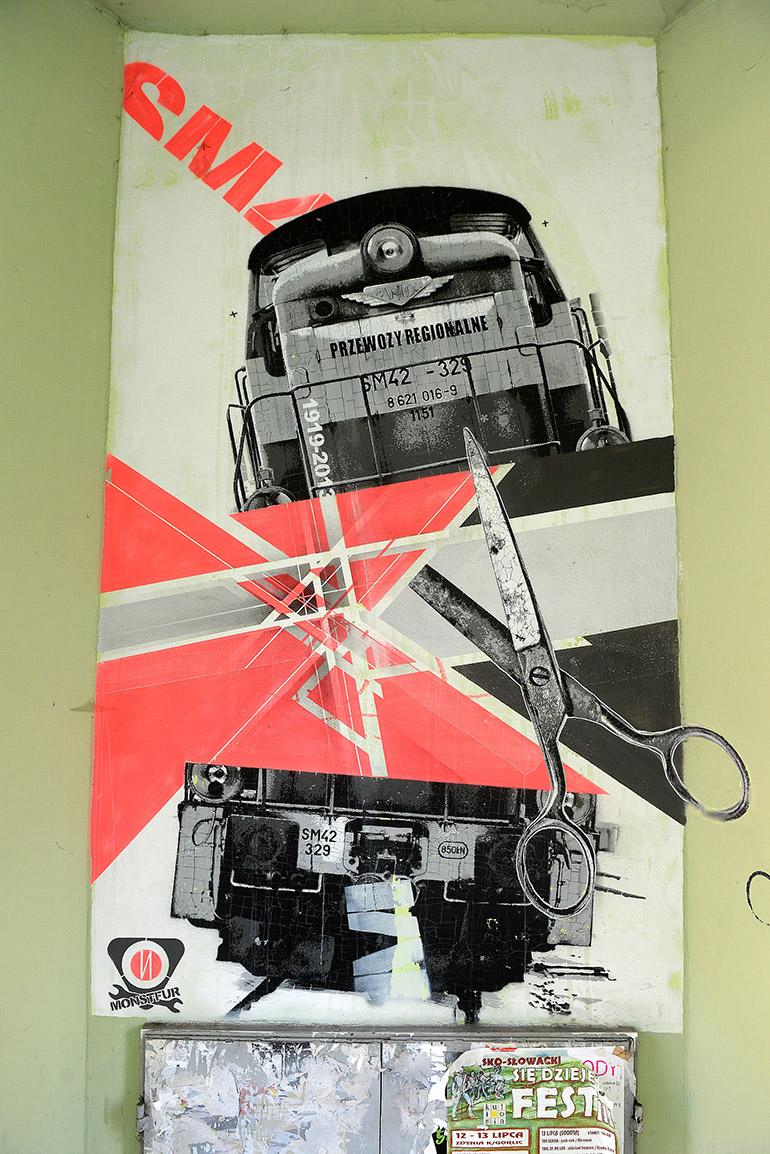 Nawer, mural, Kraków, fot. dzięki uprzejmości Mall Wall Art