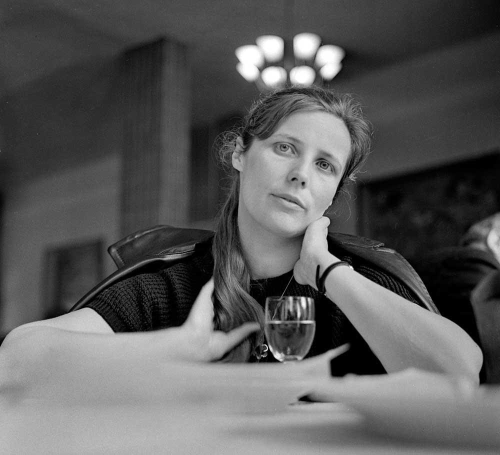 Agnieszka Osiecka, Budapeszt, 1966, fot. Lucjan Fogiel / Forum
