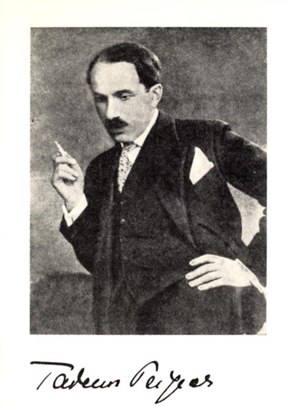 """Tadeusz Peiper, rep. za: """"Lwowskie Wiadomości Muzyczne i Literackie"""", 1933, fot. Muzeum Narodowe w Warszawie"""