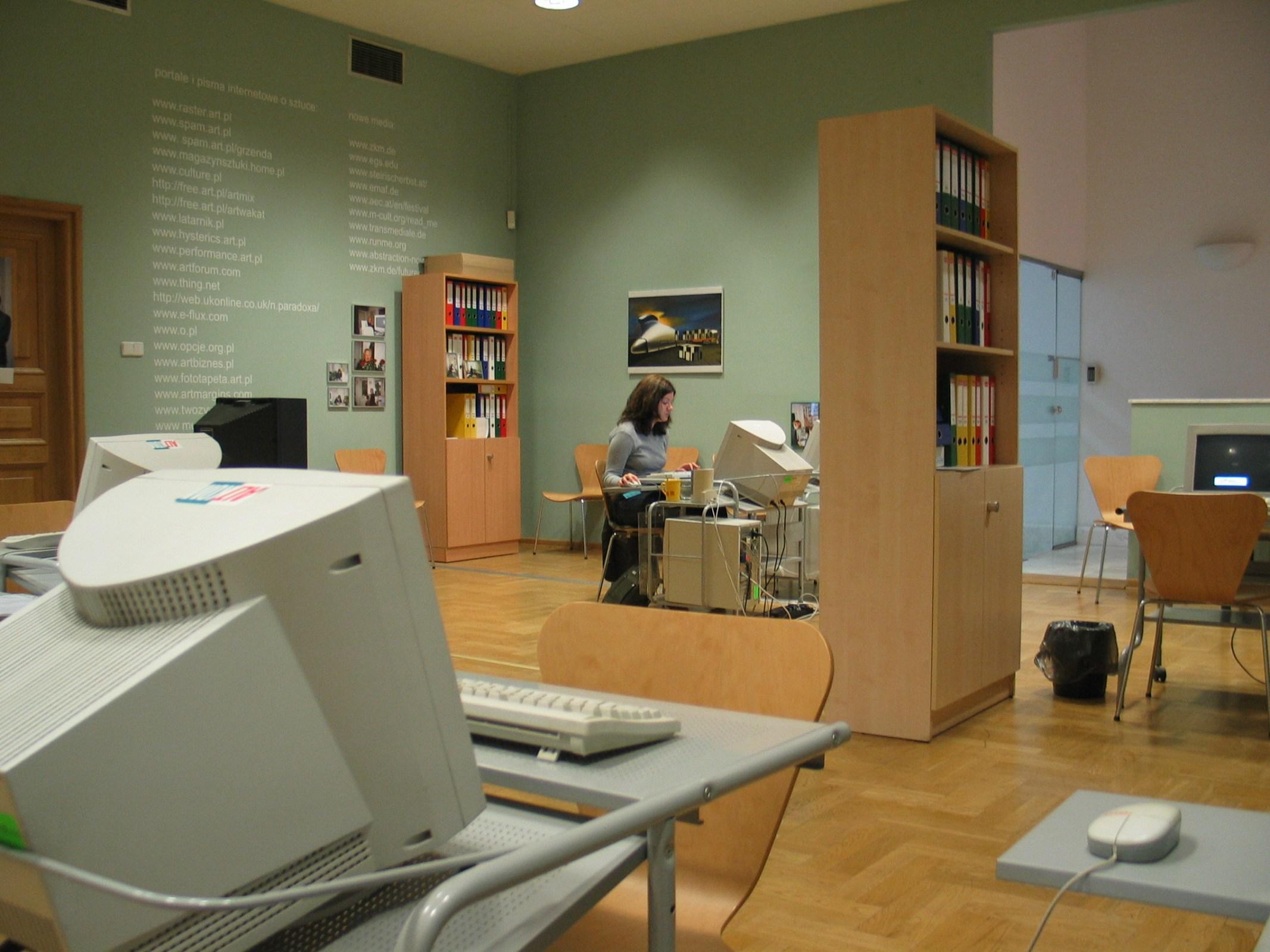 Karol Radziszewski, Office, 2005, courtesy of the artist
