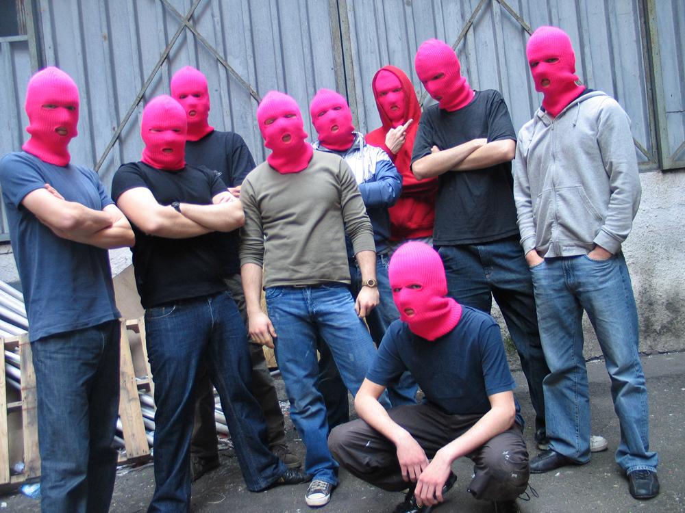 """Karol Radziszewski """"Fag Fighters"""", 2007, fot. dzięki uprzejmości artysty"""