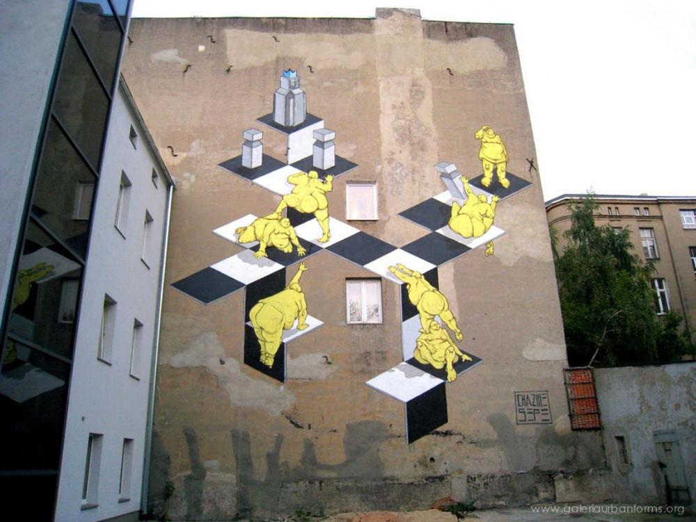 Sepe / Chazme, Łódź, ul. Próchnika 9, zdjęcia dzięki uprzejmości Fundacji Urban Forms