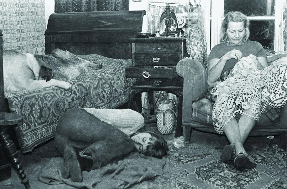 Elżbieta Kossak, matka Simony, lubiła życie na Dziedzince. Przez dwa lata kursowała między Krakowem a Białowieżą, fot. Lech Wilczek
