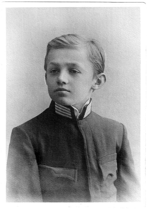 Stanisław Vincenz, uczeń 4 klasy gimnazjum, 1901, fot. Vincenz.pl/Domena publiczna