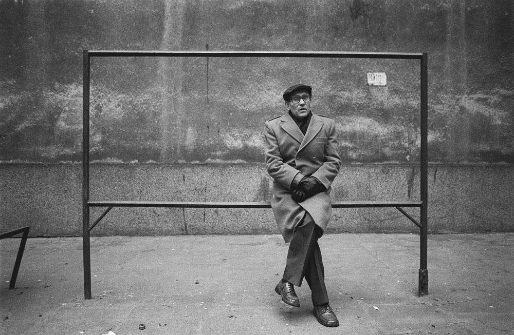 Tadeusz Konwicki, Warszawa, fot. Tadeusz Rolke / AG