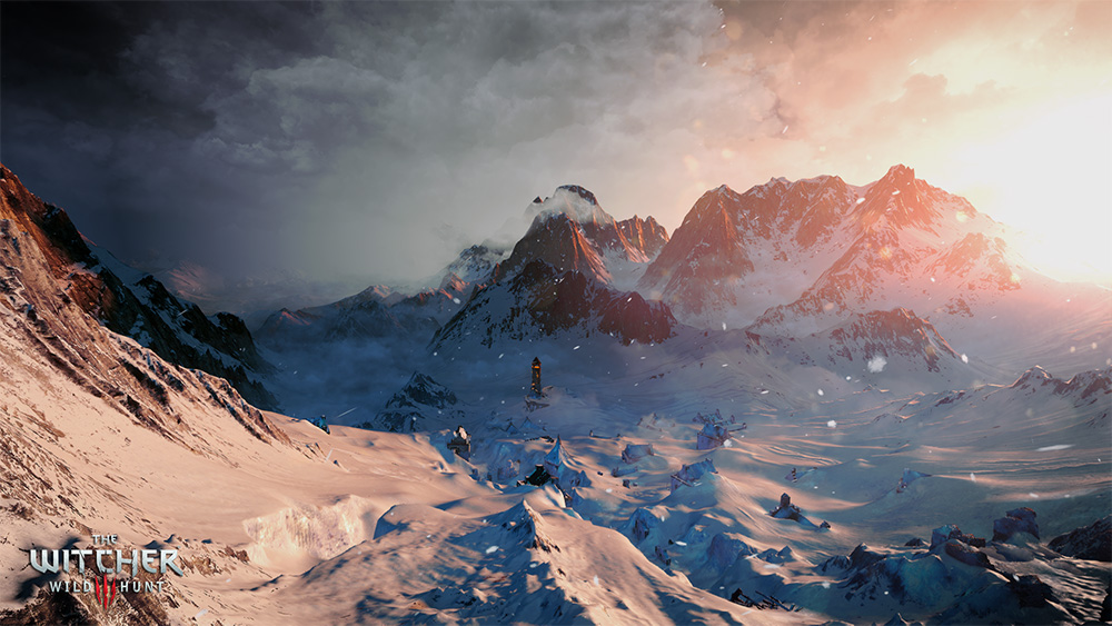 Still from The Witcher 3. Photo: press release