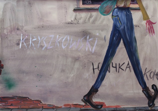 Tomasz Kowalski, t. R. I. P., gouache series