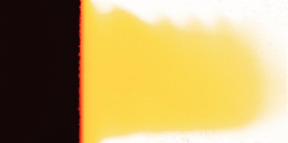 """Tomek Saciłowski_""""Bez tytułu"""", 2014, 94,5 x 190 cm, Piktogram, fot. WGW"""