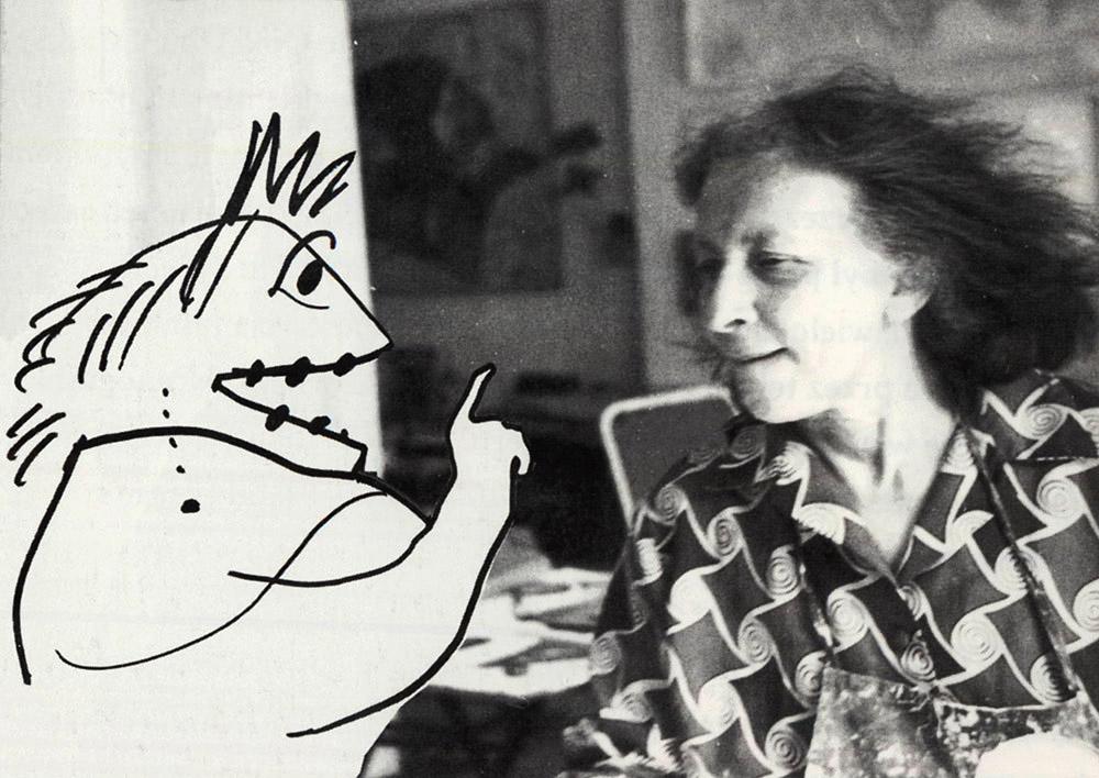 Franciszka Themerson, fot. dzięki uprzejmości Muzeum Sztuki w Łodzi