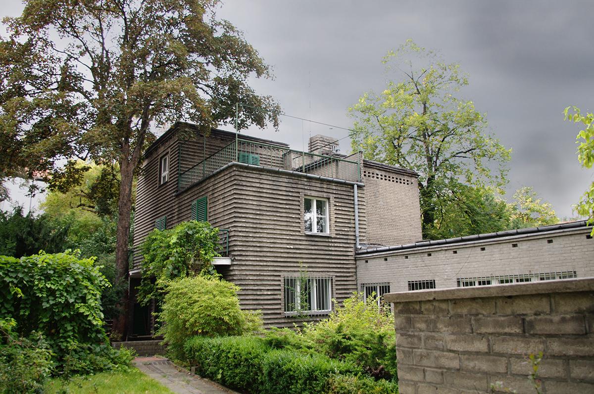 Romuald Gutt, dom własny architekta, 1926-28, Kolonia Profesorska, ul. Hoene-Wrońskiego 5 w Warszawie, fot. Anna Gawryś i Łukasz Piekarczyk