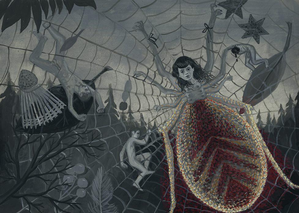 Aleksandra Waliszewska, bez tytułu, gwasz, wym. 25x35cm, 2012-2014, fot. dzięki uprzejmości artystki