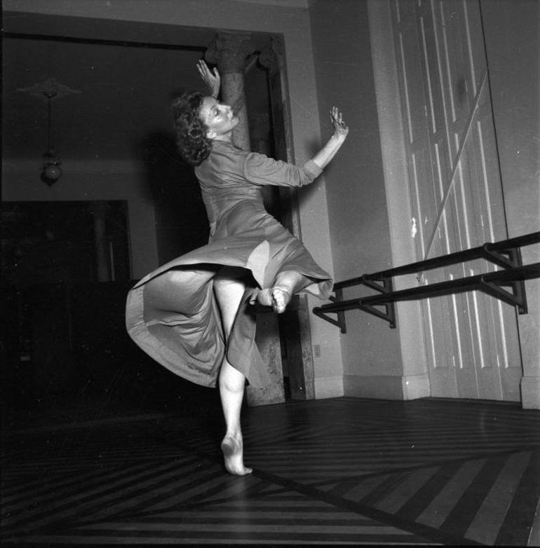 Yanka Rudzka, archive photograph, photo: courtesy of the artist's assistant