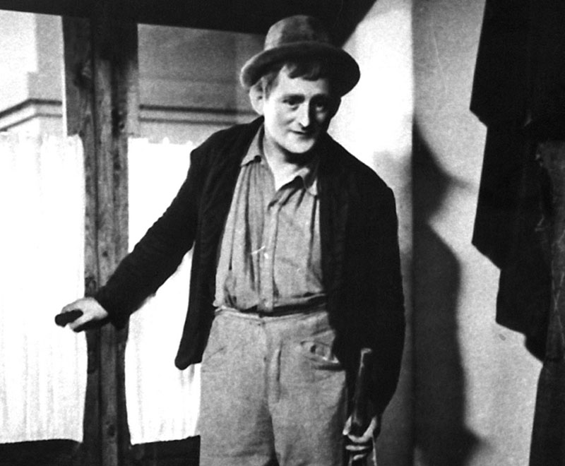 Zygmunt Turkow in the film Błazen purymowy, 1937, dir. Józef Green, Jan Nowina – Przybylski, photo. Filmoteka Narodowa/www. Fototeka.fn.org.pl