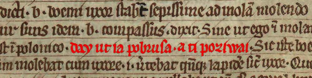 Book of Henryków and the earliest Polish sentence, photo: Wikimedia