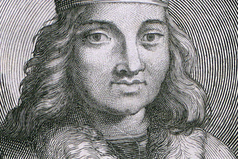 Bolesław Kędzierzawy. A graphic from 1703, photo: National Library, Polona.pl