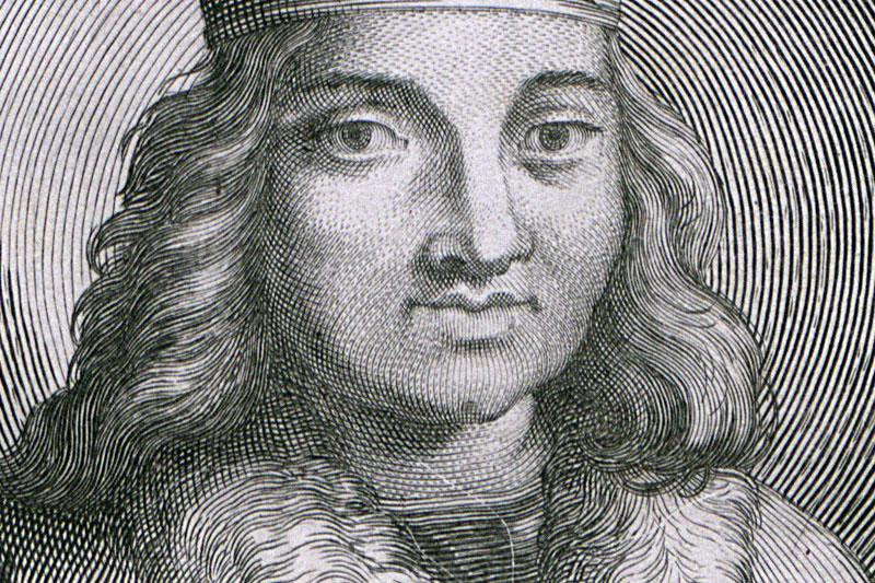 Болеслав Кудрявый. Гравюра 1703 года. Фото: Национальная библиотека, Polona.pl