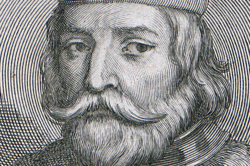 Болеслав Кривоустый. Гравюра 1703 года, фото: Национальная библиотека, Polona.pl