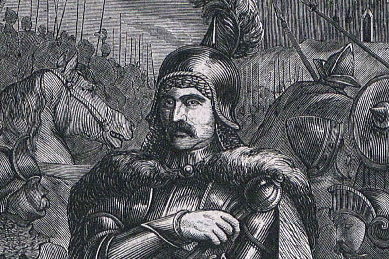 Болеслав Рогатка. Гравюра Яна Матейко, фото: Национальная библиотека, Polona.pl