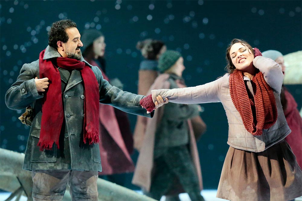 6.A scene from the opera The Snow Maiden by Nikolai Rimsky-Korsakov, director: Alexander Titel, 2017, Bolshoi Ballet and Opera Theatre, Moscow, Russia, fot. www.bolshoirussia.com