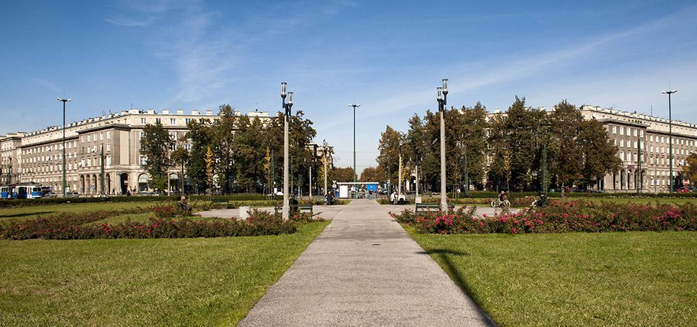 6.Central Square, today named after Ronald Reagan, photo: Sebastian Kocon/Forum