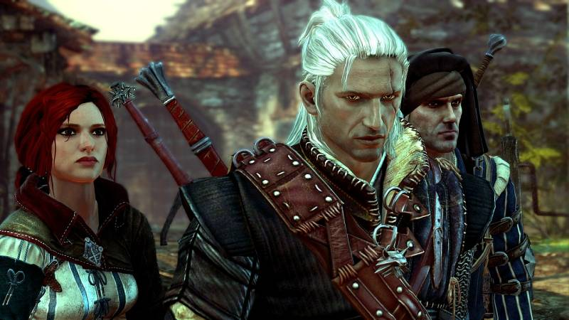 Still from The Witcher 2: Assassins of Kings, photo: developer's press release