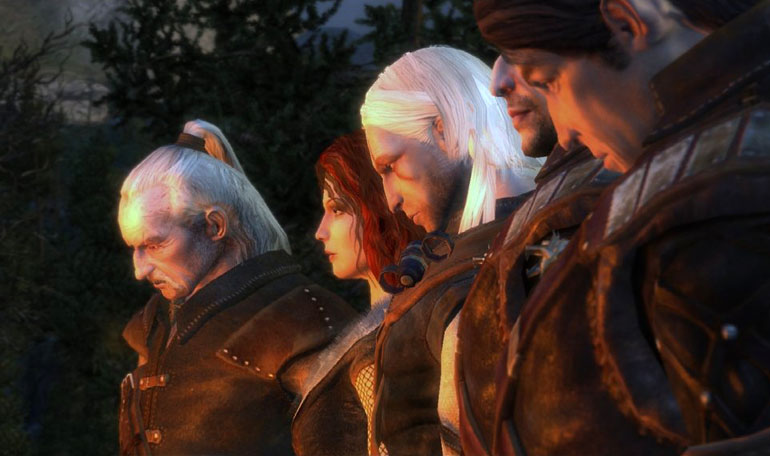 Still from The Witcher, photo: developer's press release