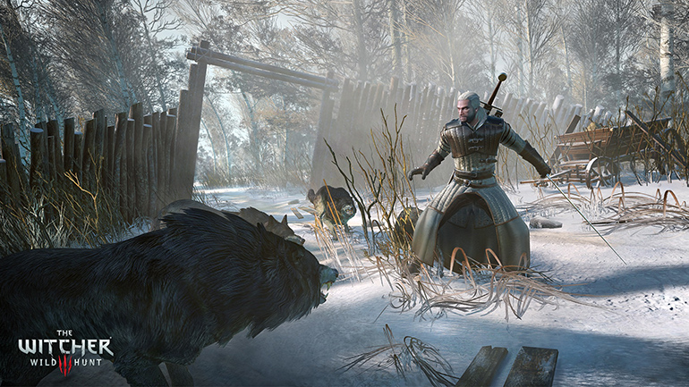Still from the game The Witcher 3, photo: producer's press materials