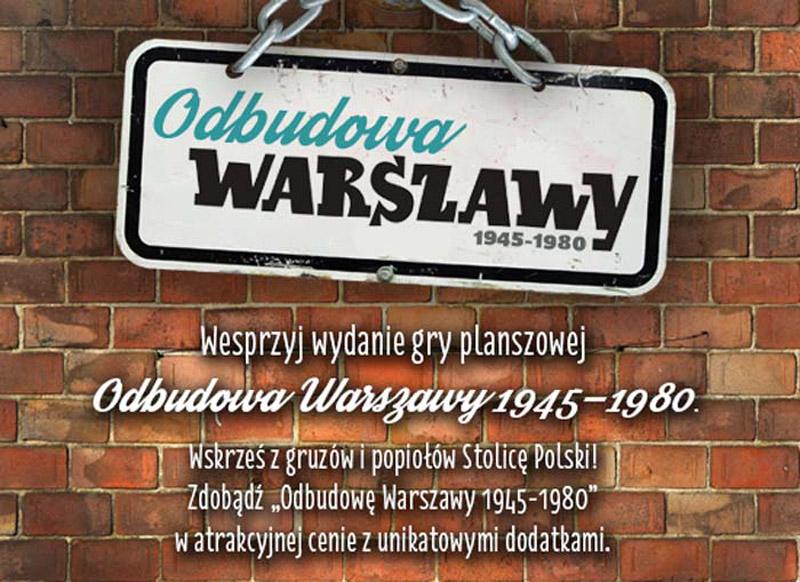 """""""Odbudowa Warszawy 1945-1980"""""""