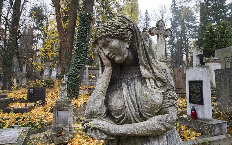 Cmentarz Łyczakowski, fot. Andrzej Sidor/Forum