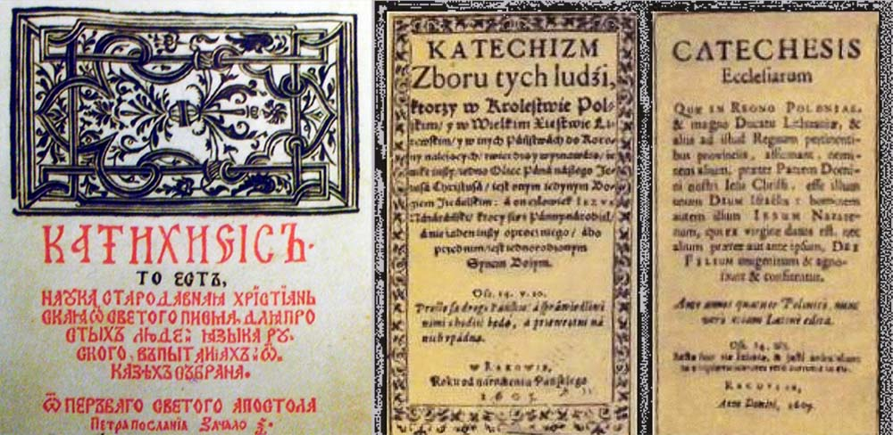 Catechesis by Szymon Budny and Racovian Catechism, photo: Wikipedia