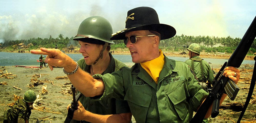 Still from the film Apocalypse Now directed by Francis Ford Coppola, 1979, photo: Zoetrope Studios