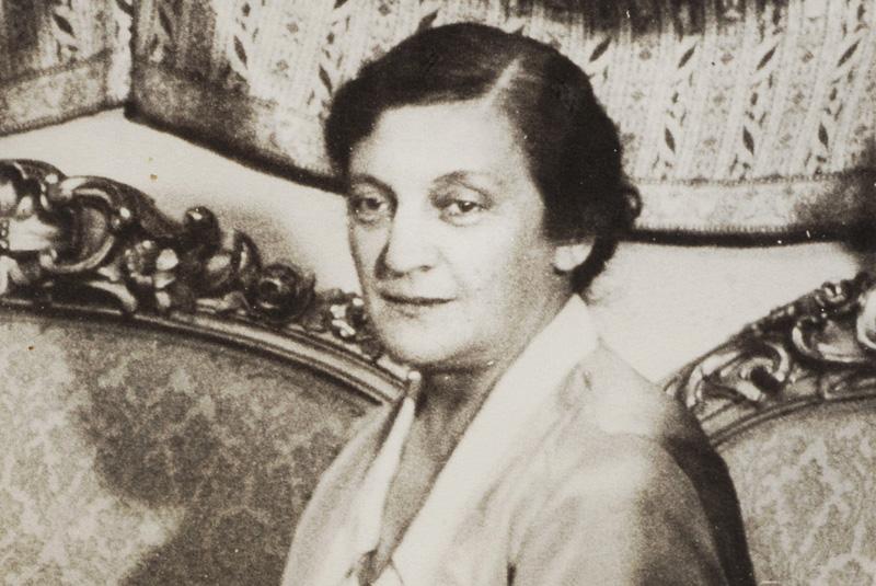 Aleksandra Piłsudska in 1930. Photo: POLONA / www.polona.pl