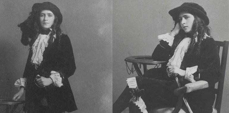 Irena Krzywicka in a page's uniform, 1914. Photo: POLONA / www.polona.pl