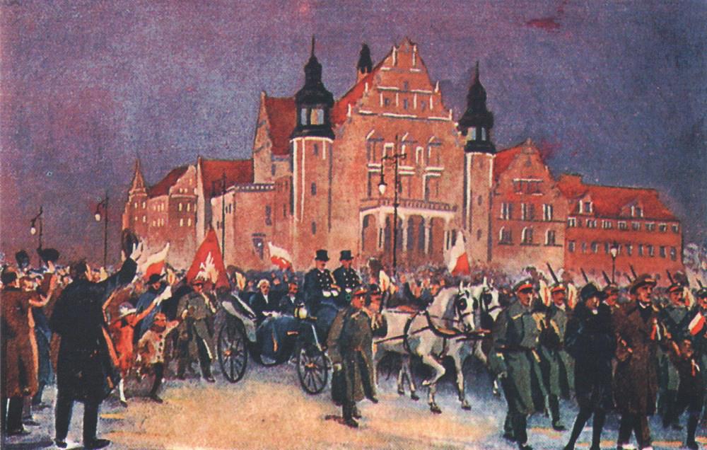 Ignacy Paderewski's Coming to Poland by Leon Prauziński, photo: Wydawnictwo Miejskie Posnania