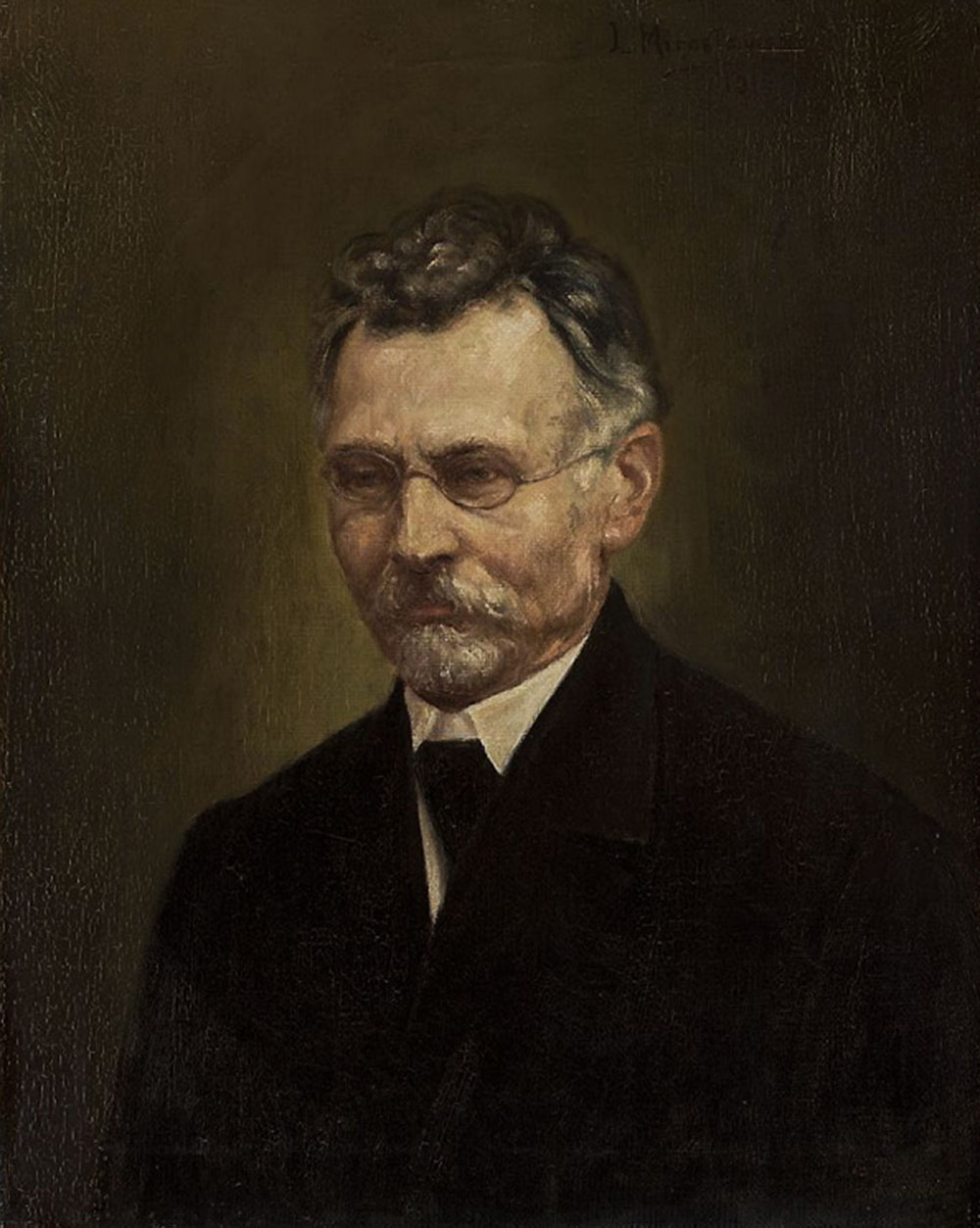 Portrait of Bolesław Prus by Leokadia Mirosławska, photo: National Museum in Warsaw