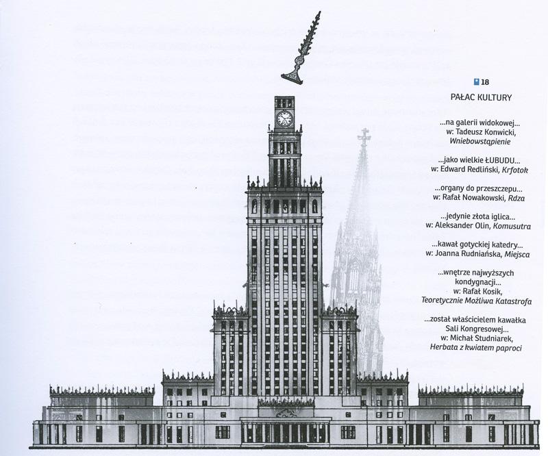 """fot. ilustracja  z ksiażki """"Fantastyczny atlas Polski"""", 2015, , wyd. NCK"""