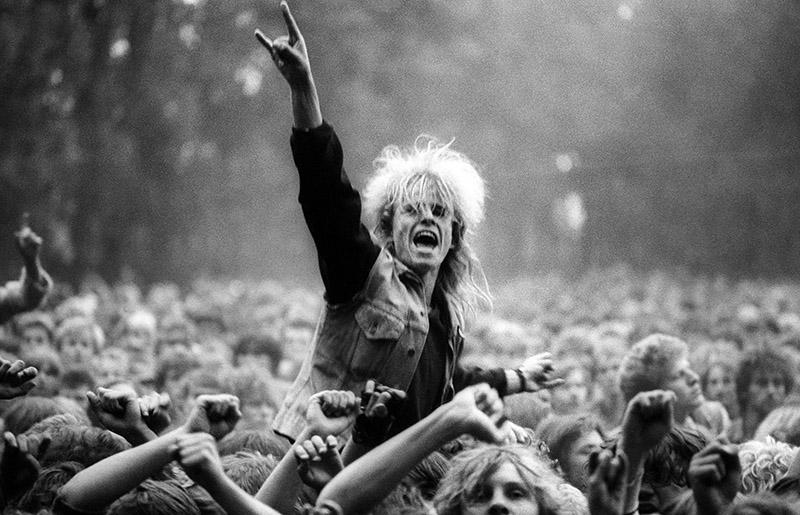 Festiwal Muzyków Rockowych w Jarocinie 1988, fot. Krzysztof Wójcik / Forum