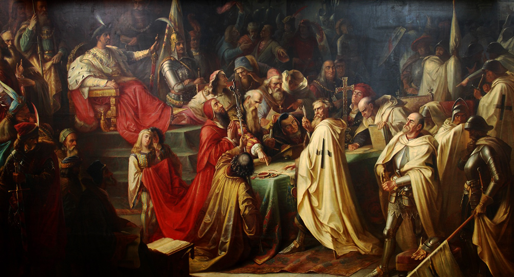 Second Peace of Toruń by M. Jaroczyński, 1873, photo: District Museum in Toruń