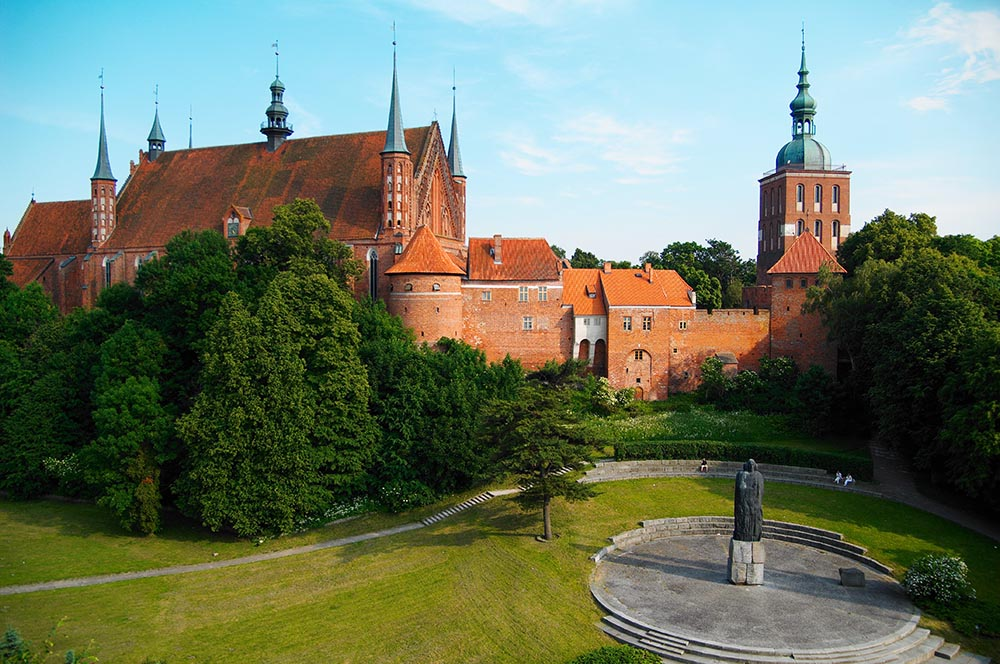 Cathedral Hill in Frombork, photo: Magdalena Szachowska/Forum