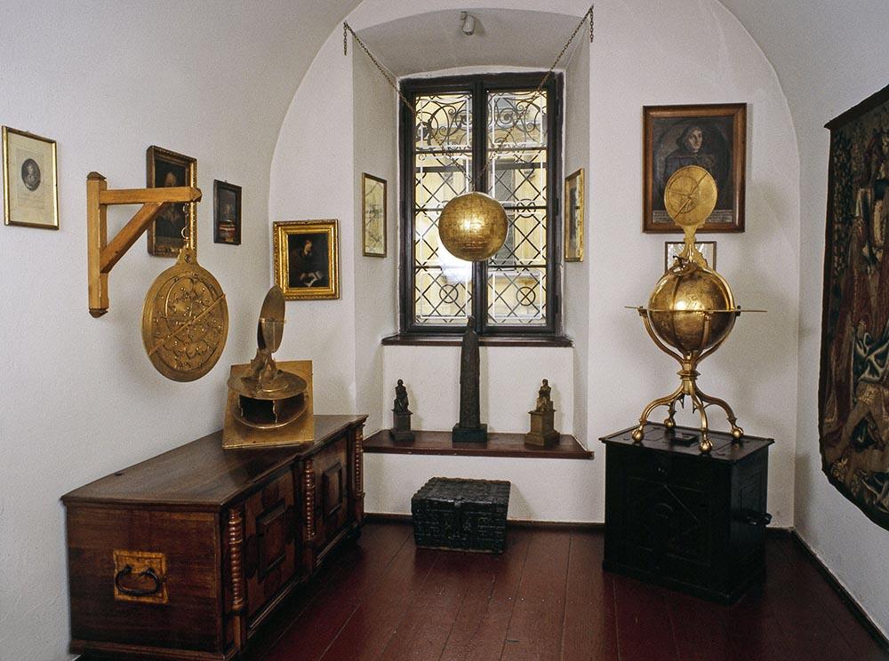 Collegium Maius University in Kraków, the museum of astronomer M.Bylica, photo: Andrzej Szymański/East News