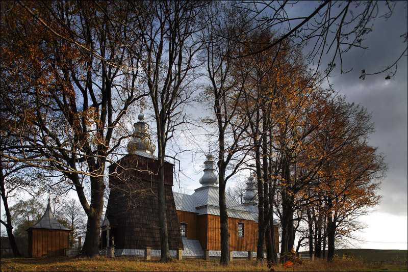 Lemko Orthodox Church in Low Beskids. photo: Daniel Pach / Forum