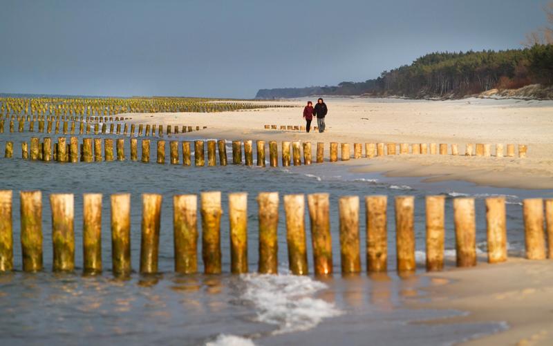 Plaża w Chałupach, fot. Tomasz Rytych / Reporter