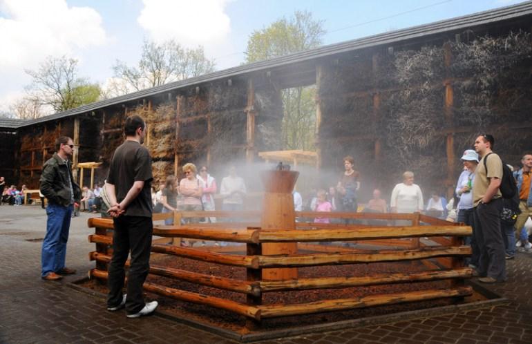 Tężnia solankowa Konstancin-Jeziorn, fot. Borys Czonkow / East News