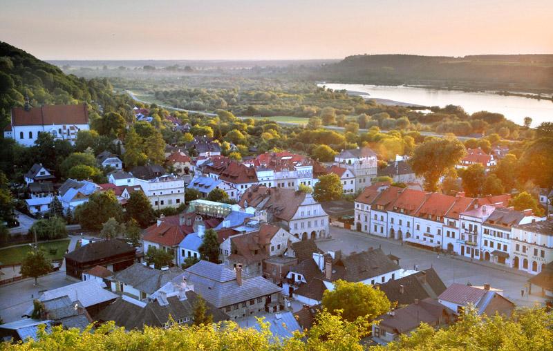 Kazimierz Dolny, panorama, fot. Andrzej Sidor /Forum