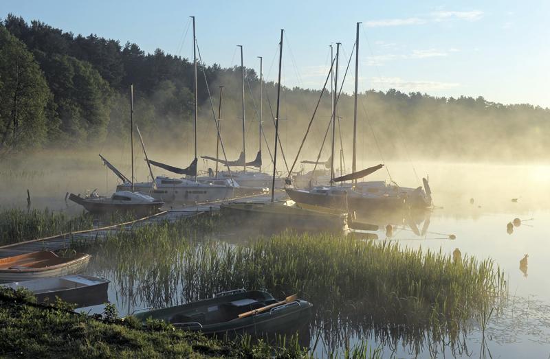 На Нидзком озере, фото: Ян Белецкий / East News