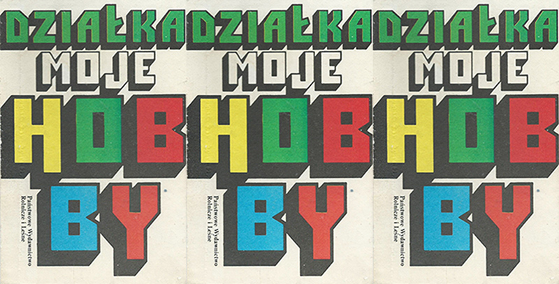 "The cover of the ""Działka moje hobby"" book, reproduction by: culture.pl"