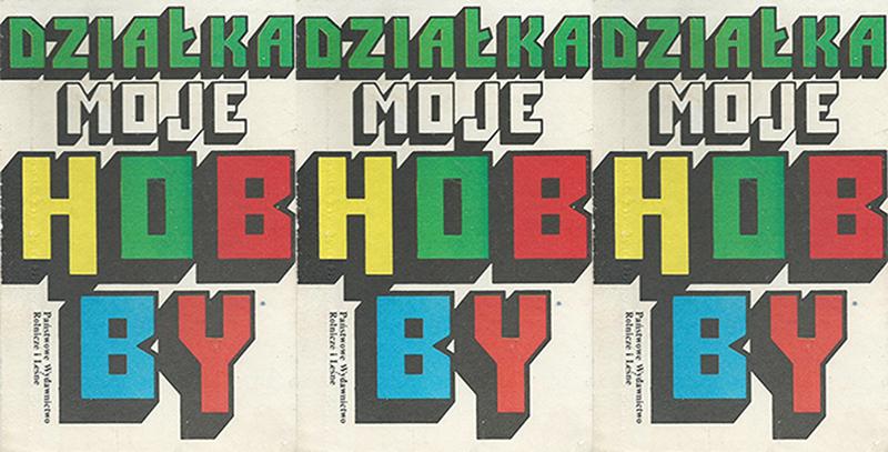 """Okładki książki """"Działka moje hobby"""", reprodukcja: culture.pl"""