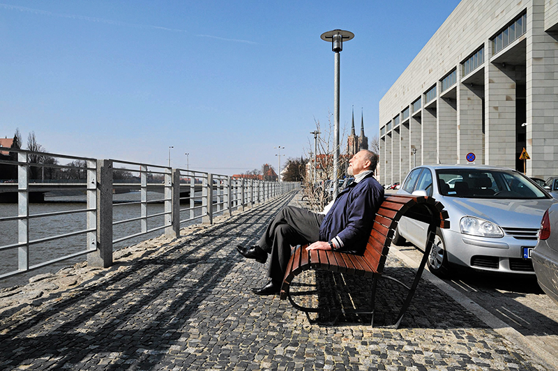 Wrocław bulwary, fot. Tomasz Pietrzyk /AG