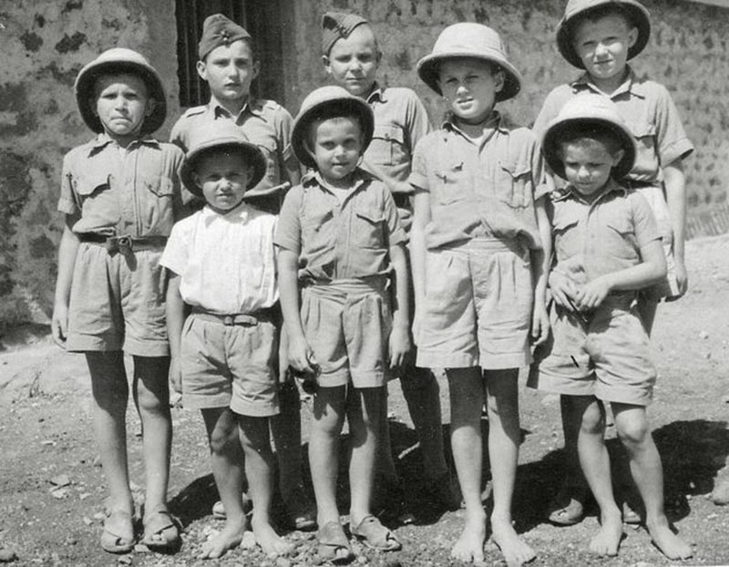 Rescued Polish orphans, photo: Vesper Publishing
